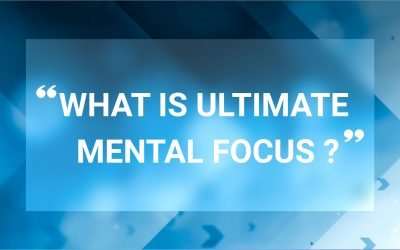 What is the Ultimate Mental Focus on when the sights come into the aiming area?